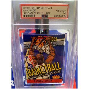 PSA 10 Fleer Wax Pack